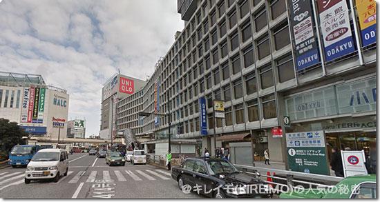 新宿駅西口の様子