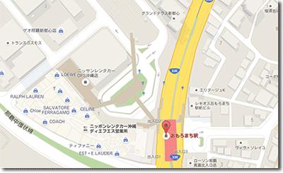 キレイモ(kireimo)那覇おもろまち店の地図