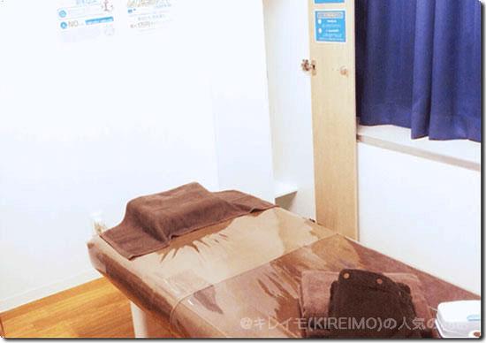 キレイモ銀座の施術ルーム