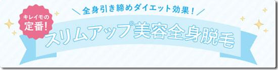 キレイモ広島本通店のスリムアップ美容全身脱毛