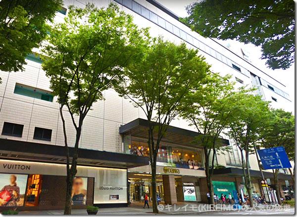 キレイモ金沢香林坊アトリオ(百万石通り側)