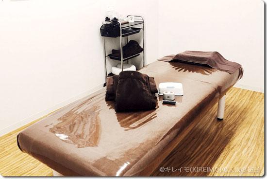 キレイモ宇都宮店の施術ルームは個室