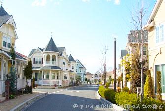 キレイモのCMロケ地の住宅街